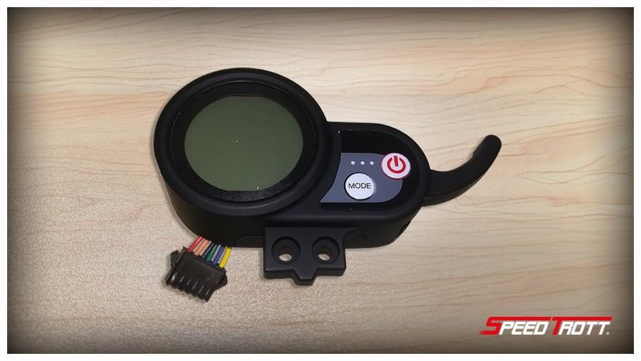 Display bleu Z2 48V 6 Fils - SPEEDTROTT ST12 - ST14 - ST16 - Trottinette électrique