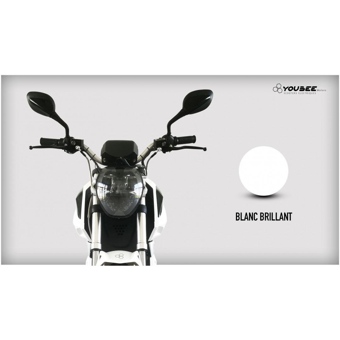 Moto électrique YOUBEE MOTORS EGHOST 125 BLANC