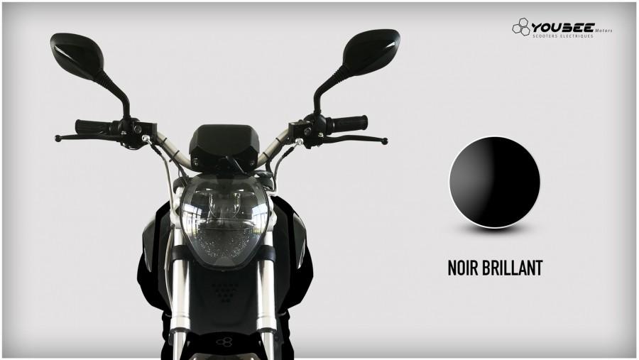 Moto électrique YOUBEE MOTORS EGHOST 125 NOIR