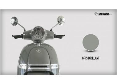Scooter électrique YOUBEE MOTORS HERITAGE 50 GRIS