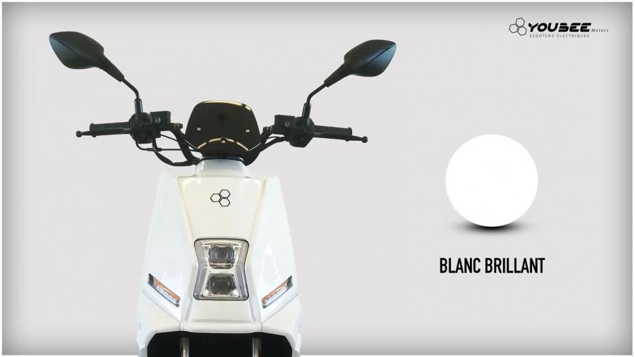 Scooter électrique YOUBEE MOTORS CITY 50 BLANC