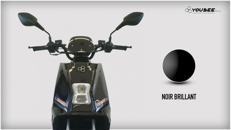 Scooter électrique YOUBEE MOTORS CITY 50 NOIR